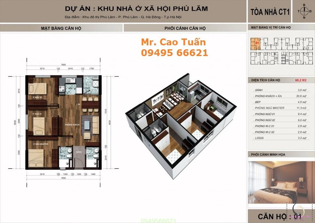 thiết kế căn hộ the vesta