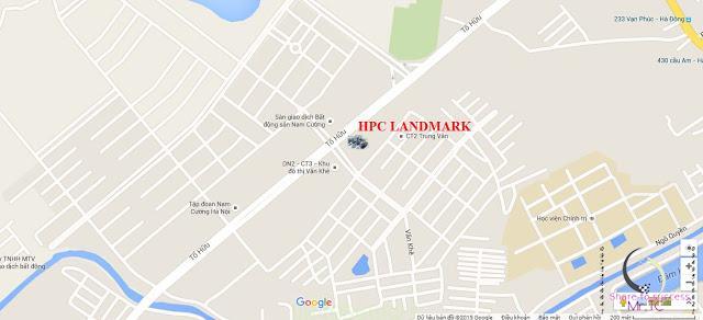 vị trí Hpc landmark 105