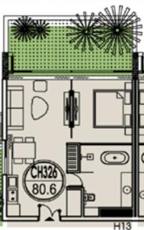 thiết kế căn hộ 326flamingo đại lải