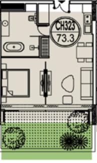 thiết kế căn hộ 323 flamingo đại lải