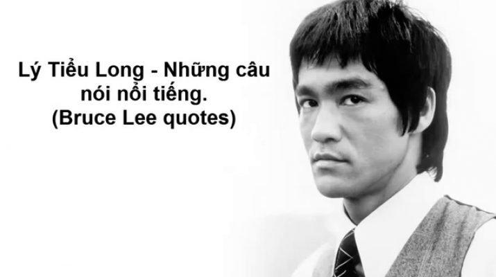 Những câu nói của Lý Tiểu Long