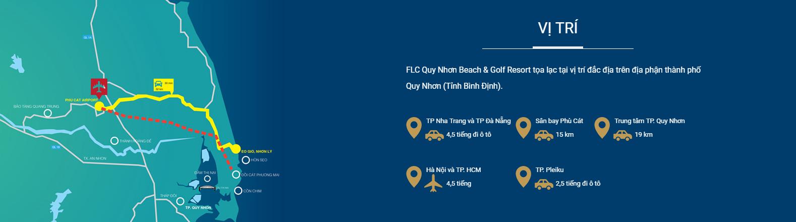 vị trí FLC Quy Nhơn