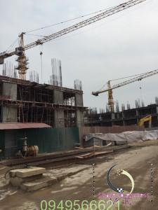 tiến độ dự án the vesta