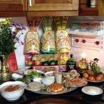 Hướng dẫn cách lau dọn bàn thờ ngày cuối năm
